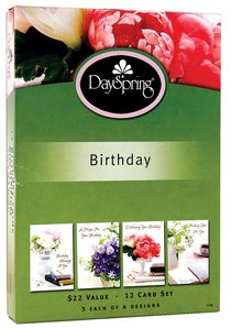Boxed Cards Birthday: Lustrous