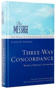 Message Three-Way Concordance: Word/Phrase/Synonym