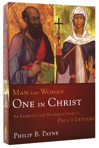 Man and Woman: One in Christ