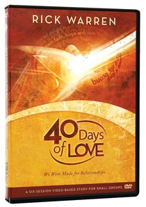 40 Days of Love (Dvd)