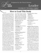 Celebrate the Risen Christ (Leader's Guide) Paperback
