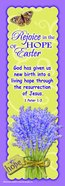 Bible Basics Bookmark: Rejoice in the Hope of Easter (10 Pack)
