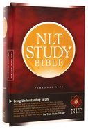 NLT Study Bible Personal Hardback