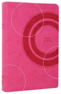 NKJV Gift Bible Lotus Pink Premium Imitation Leather