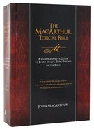 The Macarthur Topical Bible Hardback