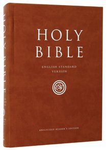 ESV Reference Bible Hardcover Anglicized