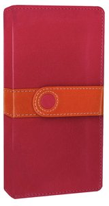 NIV Trimline Bible Pink Orange Duo-Tone (Red Letter Edition)
