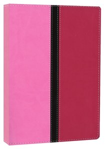 NIV Busy Moms Bible Pink Hot Pink Duo-Tone (Red Letter Edition)