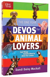 One Year: Devos For Animal Lovers