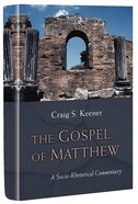 The Gospel of Matthew: A Socio-Rhetorical Commentary Paperback
