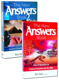 New Answers Book, the 2-Pack (2 Vols) (New Answers Book Series)