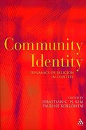 Community Identity Paperback