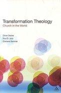 Transformation Theology Paperback