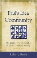 Paul's Idea of Community Paperback