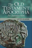 Old Testament Apocrypha Paperback