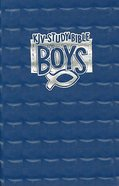 KJV Study Bible For Boys Blue Prism (Red Letter Edition) Imitation Leather