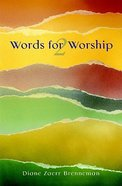 Words For Worship 2 Paperback