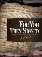 For You They Signed Paperback