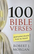 100 Bible Verses Everyone Should Know By Heart (Large Print) Paperback