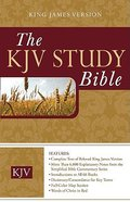 KJV Today's KJV Study Bible Hardback
