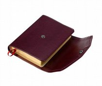 KJV Pocket Reference Burgundy With Flap (Red Letter Edition)