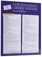Zondervan Get An A! New Testament Greek Syntax Sheet
