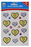 Sticker Pack: Jesus Loves Me! Kid-Drawn Novelty