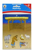 Bible Story Builders: Nativity Stickers
