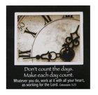 Magnetic Picture Frame: Clock