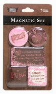 Magnetic Set of 5 Magnets: Pure Novelty