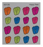 Sticker: Happy Feet Stickers