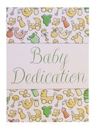 Certificate: Baby Dedication Folded Stationery