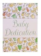 Certificate: Baby Dedication Folded Stationery