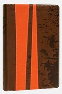 KJV Teen Study Burnt Orange/Fudge (Black Letter Edition) Premium Imitation Leather
