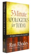 5-Minute Apologetics For Today Paperback