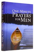 One-Minute Prayers For Men (Gift Edition) Hardback