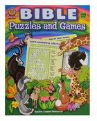 Bible Puzzles and Games (Teacher Created Resources Series) Paperback