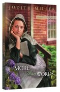 More Than Words (#02 in Daughters Of Amana Series) Paperback