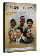 Worldview For Christian Witness Paperback