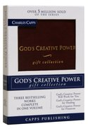 God's Creative Power Gift Collection Burgundy Genuine Leather