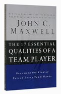 The 17 Essential Qualities of a Team Player Paperback