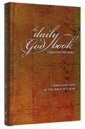 Daily God Book: Through the Bible Hardback