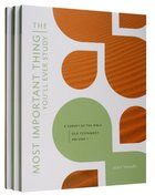 Old Testament Volume 1, 2, & 5 (With Answer Key) (The Most Important Thing YouLl Ever Study Series)