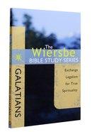 Galatians (Wiersbe Bible Study Series) Paperback