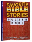 Puzzle Book: Favorite Bible Stories (Ages 6-10, Reproducible) Paperback