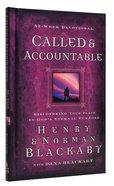 Called & Accountable Devotional Hardback