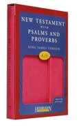 KJV New Testament With Psalms and Proverbs With Magnetic Flap Pink
