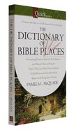 Quicknotes Dictionary of Bible Places Paperback