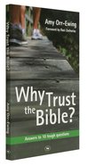 Why Trust the Bible? (Niv Edition) Paperback