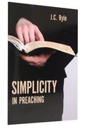 Simplicity in Preaching Booklet